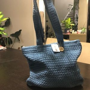The SAK crochet shoulder bag!